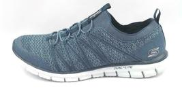 Skechers Stretch-Knit Bungee Slip-On Sneakers - Glider Tuneful Navy 8.5 M image 3
