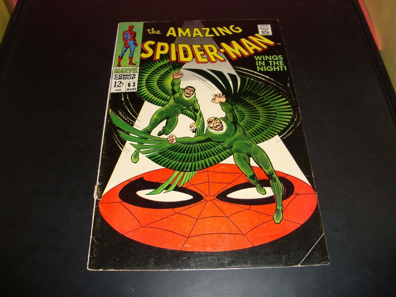 The Amazing Spider-Man #63 Marvel Comic Book 1968 VG Condition (5.0) The Vulture