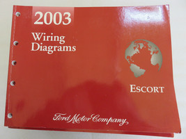 2003 Ford Escort Electrical Wiring Diagrams Service Manual OEM Factory W... - $1.78