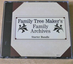 Family Tree Maker's Family Archives Starter Bundle SS Death Records & More - $9.85