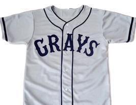 Josh Gibson #20 Homestead Grays Negro League New Baseball Jersey Grey Any Size image 4