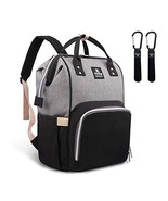Hafmall Diaper Bag Backpack Waterproof Large Capacity Insulation Travel ... - $33.99
