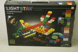 Light Stax Junior Classic Illuminated Blocks Mega Set, 102 Pieces Building Block image 2