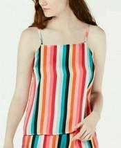 $39 International Concepts Multi-stripe Pajama Camisole top,  Rainbow St... - $13.85