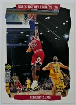 1996-97 MICHAEL JORDAN Upper Deck Basketball Insert Card - $5.00