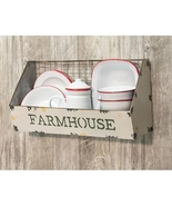 "Galvanized Metal Wire Wall Shelf Basket, ""Farmhouse"" Kitchen wall decor  - $49.99"