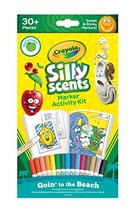 Crayola Silly Scents Markers Activity, Coloring Book & Markers, Stocking... - $14.57