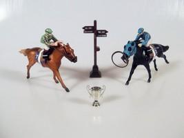 Breyer Dreamer Stablemates Race Horse Set Sonodor Goliath's Boy Trophy 7... - $34.99
