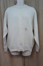 Club Room Mens Sweater Sx L Silverbirch Heather Beige Cotton Casual Crew... - €33,87 EUR