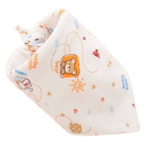 Bear Baby Burp Cloths Infant Toddle Bibs Neat Solutions Double Layers Set of 5