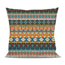 Hipster Aztec Tribal Geometric Fleece Cushion - $28.99+