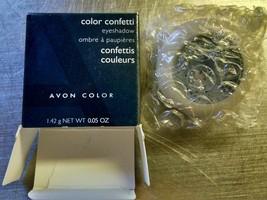 Avon Color Confetti Eyeshadow Hues of Blue Pressed Powder Shimmer - $9.99