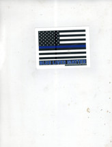 Blue Lives Matter Flag Police MS MP Vintage 3X4 Vinyl Political Sticker - $4.50