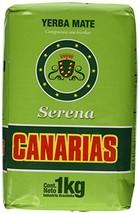Canarias Yerba Mate Serena Bag  2.2 lb  Brasil - $20.00
