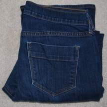 Old Navy Sweetheart Jeans Ladies 8 Short Petite Stretch Dark Denim Bootc... - $14.80
