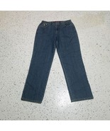 Gloria Vanderbilt Women's Denim Blue Jeans ~ Sz 8 Short ~ Stretchy Waist  - $18.80