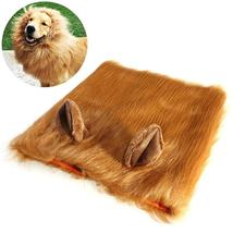 Dog Lion Headgear Hat Lion Hair Mane Costume with Ears for Dog Halloween - €14,81 EUR