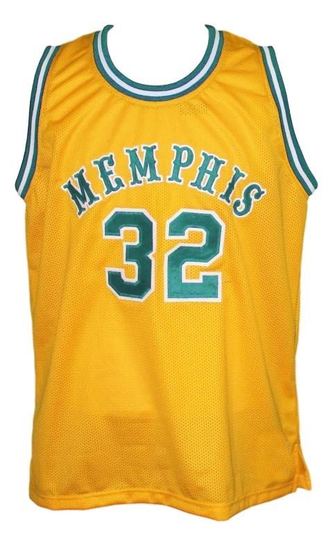 Memphis tams retro aba 1974 basketball jersey yellow   1