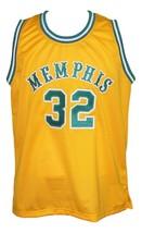 Memphis Tams Retro Aba 1974 Basketball Jersey New Sewn Yellow Any Size image 1