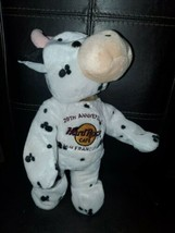 Hard Rock Cafe SAN FRANCISCO 20th Anniversary Plush Cow - $39.55
