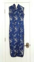 Cheongsam Asian Silk Dress Plum Blossom  - $39.00