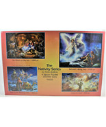 The Nativity Series 4 Jigsaw Puzzles in One Box SunsOut Puzzles - $39.59