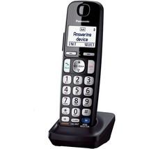 Cordless Telephones, Black Panasonic Cordless Handset Home Landline Tele... - $58.99
