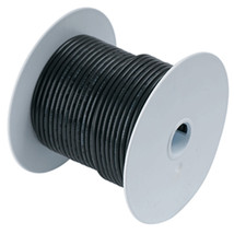 Ancor Black 1 AWG Tinned Copper Battery Cable - 25' - $110.99