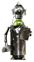 Ebros Gift General Doctor Physician On Duty Hand Made Metal Wine Bottle ... - $32.66