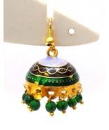 Meenakari Minakari Enamel Jhumka Jhumki Handmade Earring Jewelry Chandel... - $4.94