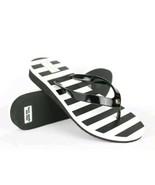 Kate Spade New York Women's Sandal Flip-Flop White/Black Size US7M/EURO 37 - $33.65