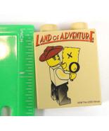 LEGO Indiana Jones Land of Adventure promotional Duplo Brick 2008 Legoland - $20.36