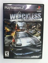 PS2 Wreckless: The Yakuza Missions (Sony PlayStation 2, 2002) No Manual Tested - $5.95