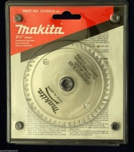 "NEW MAKITA 721003-8 COMBINATION SAW BLADE 3-3/8"" x 50 STEEL TEETH - $12.45"