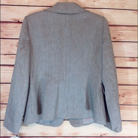 Alex Marie Ladies Gray Blazer Jacket Coat Petite Size 12 NWT