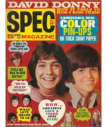 SPEC MAGAZINE - October 1971 - DAVID CASSIDY, DONNY OSMOND, JACKSON FIVE... - $14.99