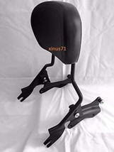 MyLohas Detachable Black Backrest Sissy Bar Docking Hardware for Harley Touring  - $131.67