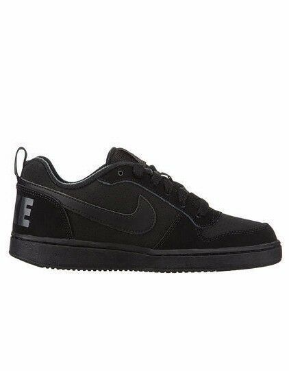 Nike court Borough Black 838937-001 Leather Shoes Men