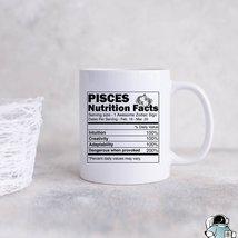 Pisces Coffee Mug, Pisces Zodiac Mug, Pisces Gift, Pisces Birthday Gift,... - $14.99
