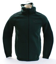 Puma Evolution Green EvoKnit Move Zip Front Hooded Track Jacket Hoodie Men's NWT - $112.49