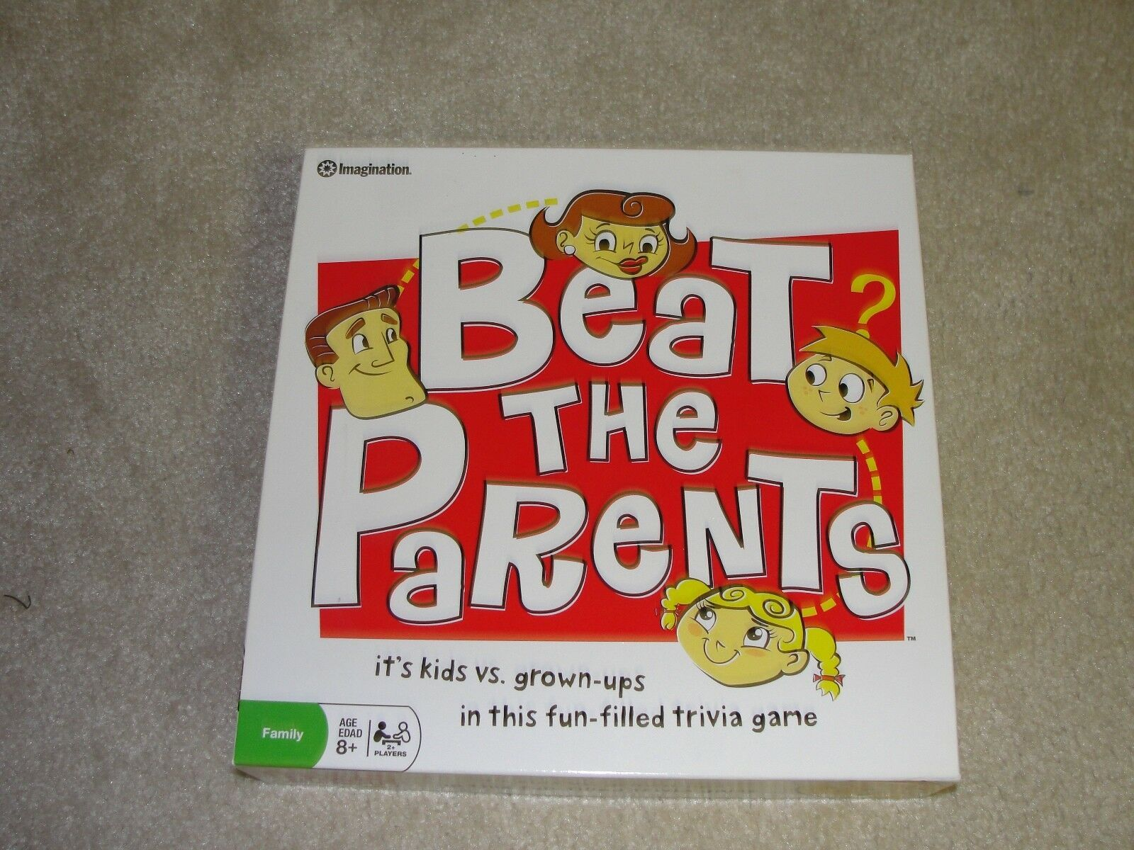 Primary image for Beat the Parents Board Game -  Outstanding condition and Complete