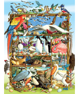 Cobble Hill 350Pc Family Puzzle Birds of the World - $16.99
