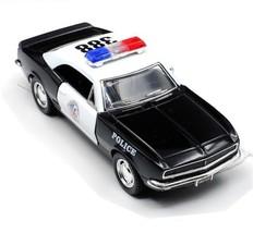 1967 Chevrolet Camaro Chevy Police Car 1:37 Diecast Metal Model Pull Bac... - $18.80