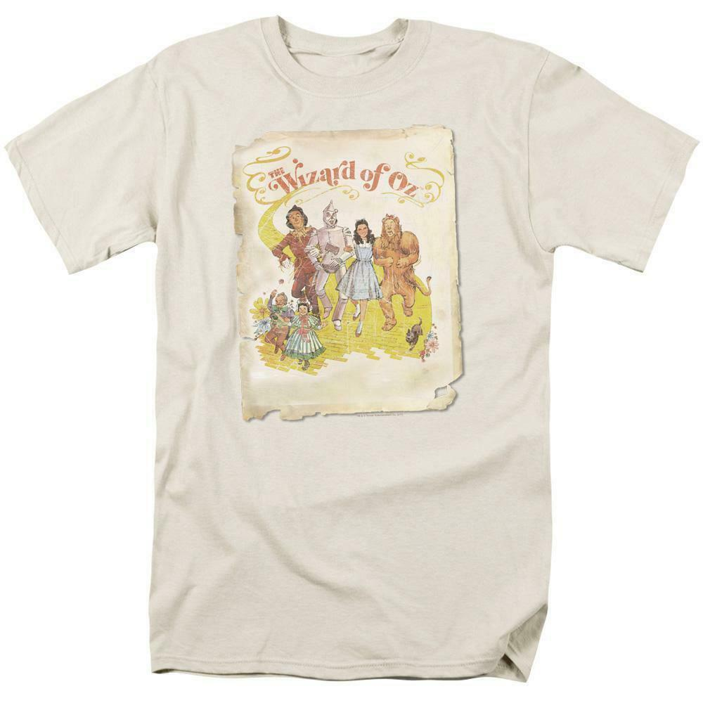 The Wizard of Oz t-shirt retro 30s musical fantasy film graphic tee OZ101