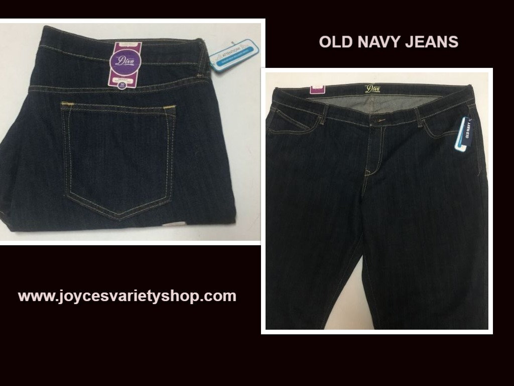 Old navy 20 jeans web collage