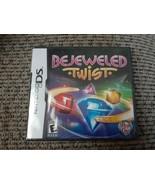 Bejeweled Twist (Nintendo DS, 2010) Rated E Pop Cap Explosive Gems Puzzl... - $15.83