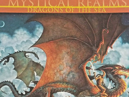 """Mystical Realms """"Dragons of the Sea"""" 1000 Pc Puzzle Kinuko Y Craft 27x20 - $15.20"""