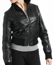 TANNERS AVENUE DISTRESSED LEATHER BASEBALL BOMBER JACKET SIZE 3XL - NWT - $148.00
