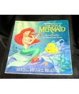 Vintage Disney Storyteller  The Little Mermaid  Book Only  530B 1990 - $7.00