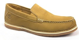 Timberland Men's Bluffton Venetian Loafers Casual Boat Shoes Wheat ALL SIZES USA - $68.95